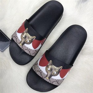 OEM Made Anti-Slip Animal Printing Slippers Men...