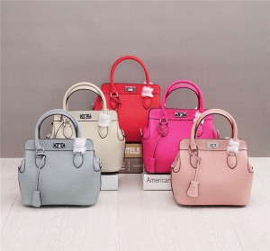 OEM Many Colors Classical Famous Brand Bags Litchi Leather Bags