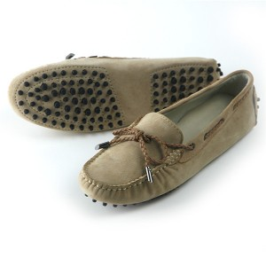 OEM Ladies Slip-On Suede Loafers Women Soft Sol...