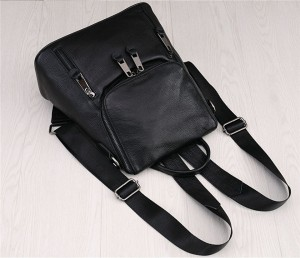 High Quality Black Cowskin Backpack Backpack For Lovers Backpacks