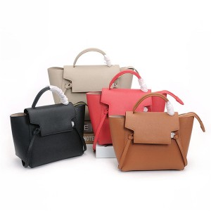 OEM Designer Tote Bags Women Brand Name Cross Body Bag Cowskin