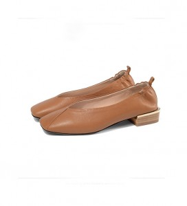 Light Tan Leather Dress Shoes