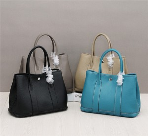 OEM Woman Bags Lychee Leather Designer Handbags