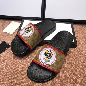 OEM Made Men Flat Comfort Slippers Outdoor Slip...