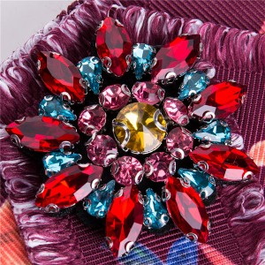 Nice Quality Silk Satin Bow Students Corsage With Bohemian Style Corsage