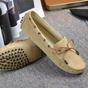 OEM Slip-On Suede Loafers Women Soft Sole Brand...