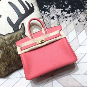 High Quality Jujube Red Togo Leather Lady Fashion Handbags 30cm & 35cm