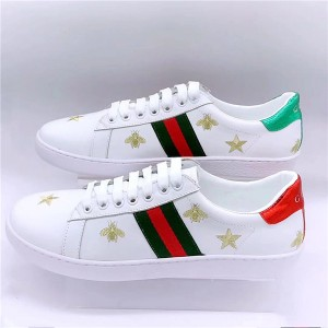 Most Popular Star Bee Embroidery New Style Sneakers For Couples