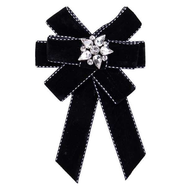 Nice Quality Famous Brand Boutonniere Women Black Multi-Layer Cotton Wool Corsage Featured Image