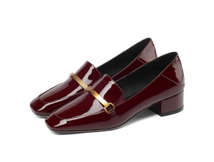 Black Patent Leather Dress Shoes For Women