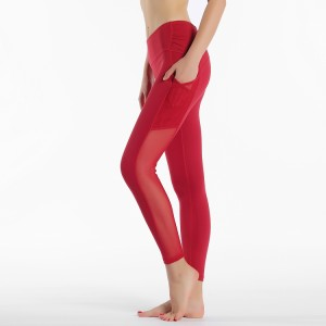 China Mesh Leggings Yoga Manufacturers And Factory Suppliers Price Omi