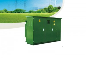 TUBW-12 series Prefabricated substation (US)box substation