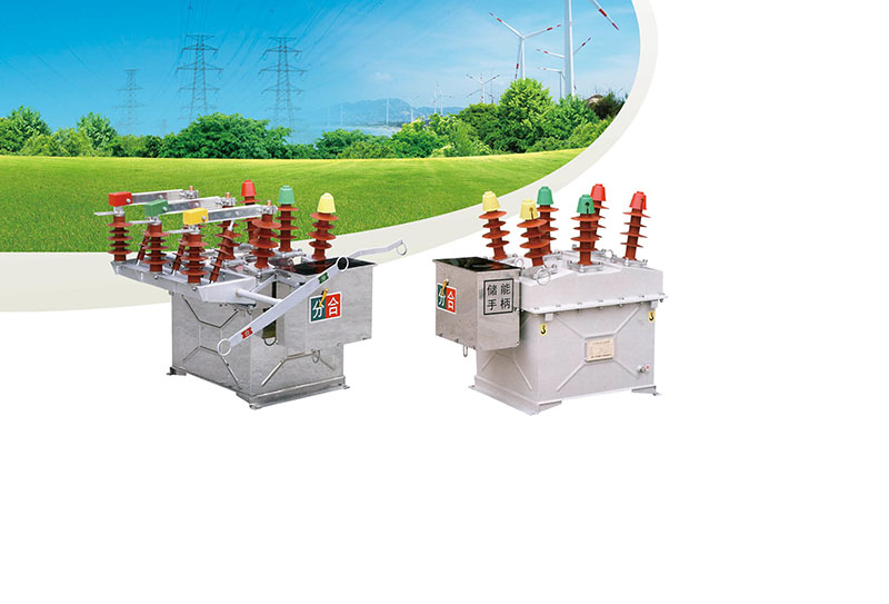 TZW8-12 Outdoor high voltage vacuum circuit breaker Featured Image