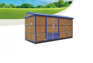 TYBW-120.4(F.R)Outdoor prefabricated substation (European) box substation