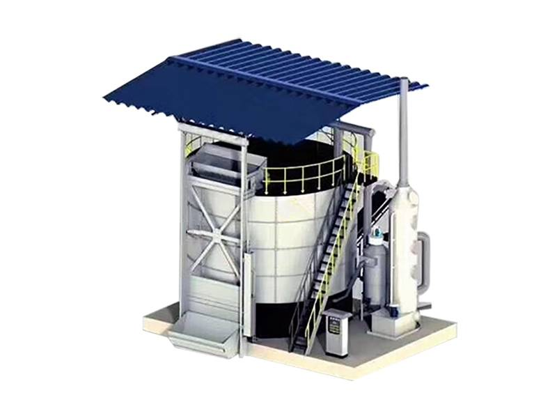 Organic Waste Fermentation Tower Featured Image