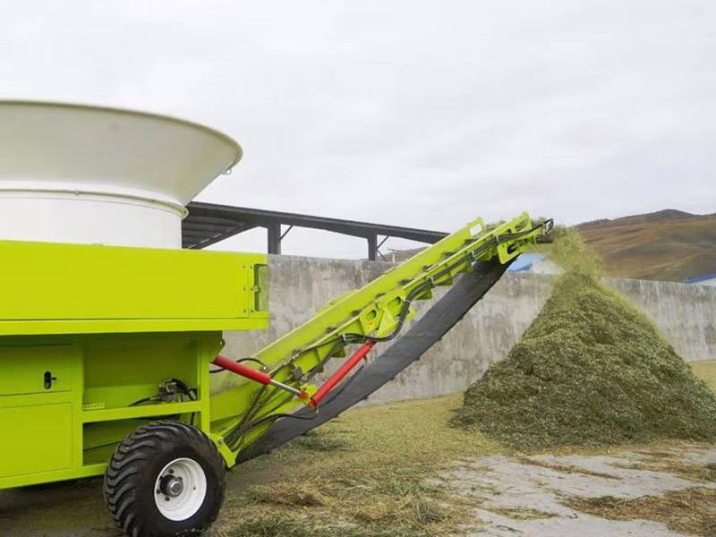 Chinese wholesale Grass Cutter Machine - Large Scale Hay Tub Grinder – OPPS