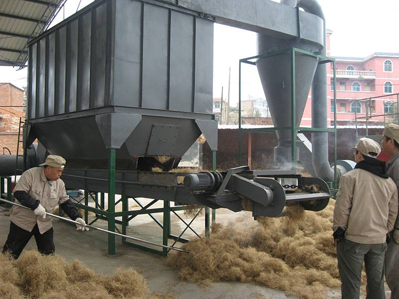 Hot sale Hemp Flower Bud Drying Machine - EFB single pass dryer – OPPS detail pictures