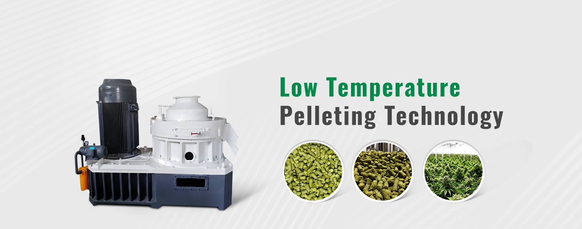 Low Temperature  Pelleting Technology