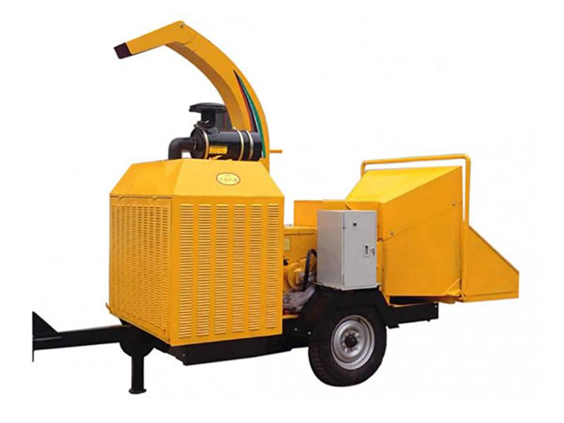 Mobile Wood fẹlẹ Chipper
