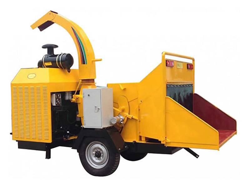 Good Quality Wood Crusher Shredder - Mobile Wood Brush Chipper – OPPS detail pictures