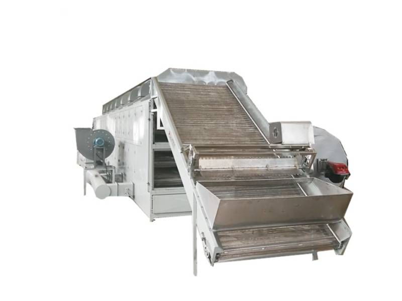 Continuous belt dryer