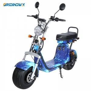 2000W harley big wheel electric scooter with EEC approval ORIDINGWAY