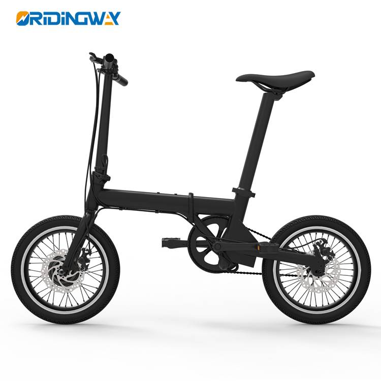 ORIDINGWAY 16inch foldable Electric bike 350w Featured Image