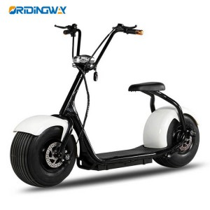 Classic big wheel citycoco electric motor scooter chopper high quality 1000W citycoco