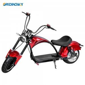 EEC approval big wheel 3000w electric scooter ORIDINGWAY