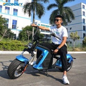 ORIDINGWAY 3000W electric scooter citycoco chopper