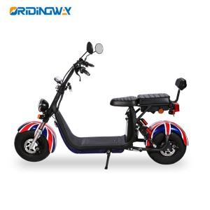 1500W EEC & COC electric citycoco scooter chopper with removable battery long distant