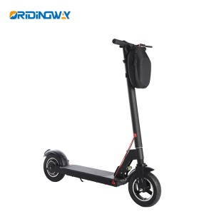 500W motor electric foldable kick scooter with double suspension