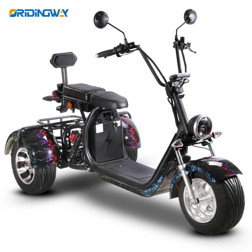 3 wheel Citycoco tricycle harley chopper for golf Featured Image