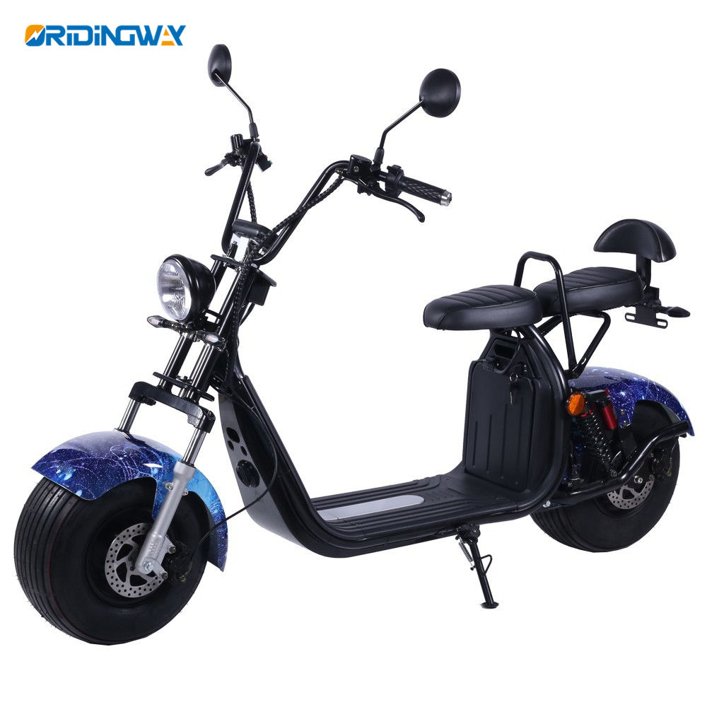 ORIDINGWAY super chopper EEC citycoco 1500w electric scooter Featured Image
