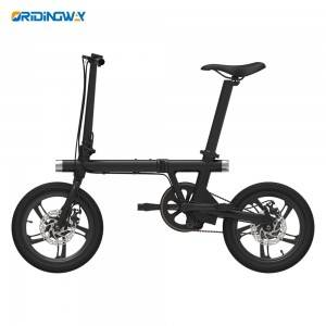 ORIDINGWAY Best 250W electric smart bike China