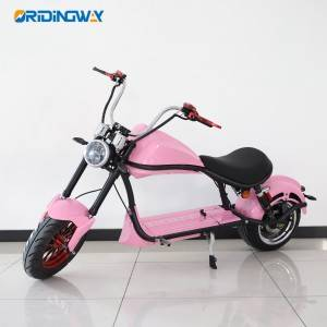 ORIDINGWAY Big wheel electric scooter citycoco super