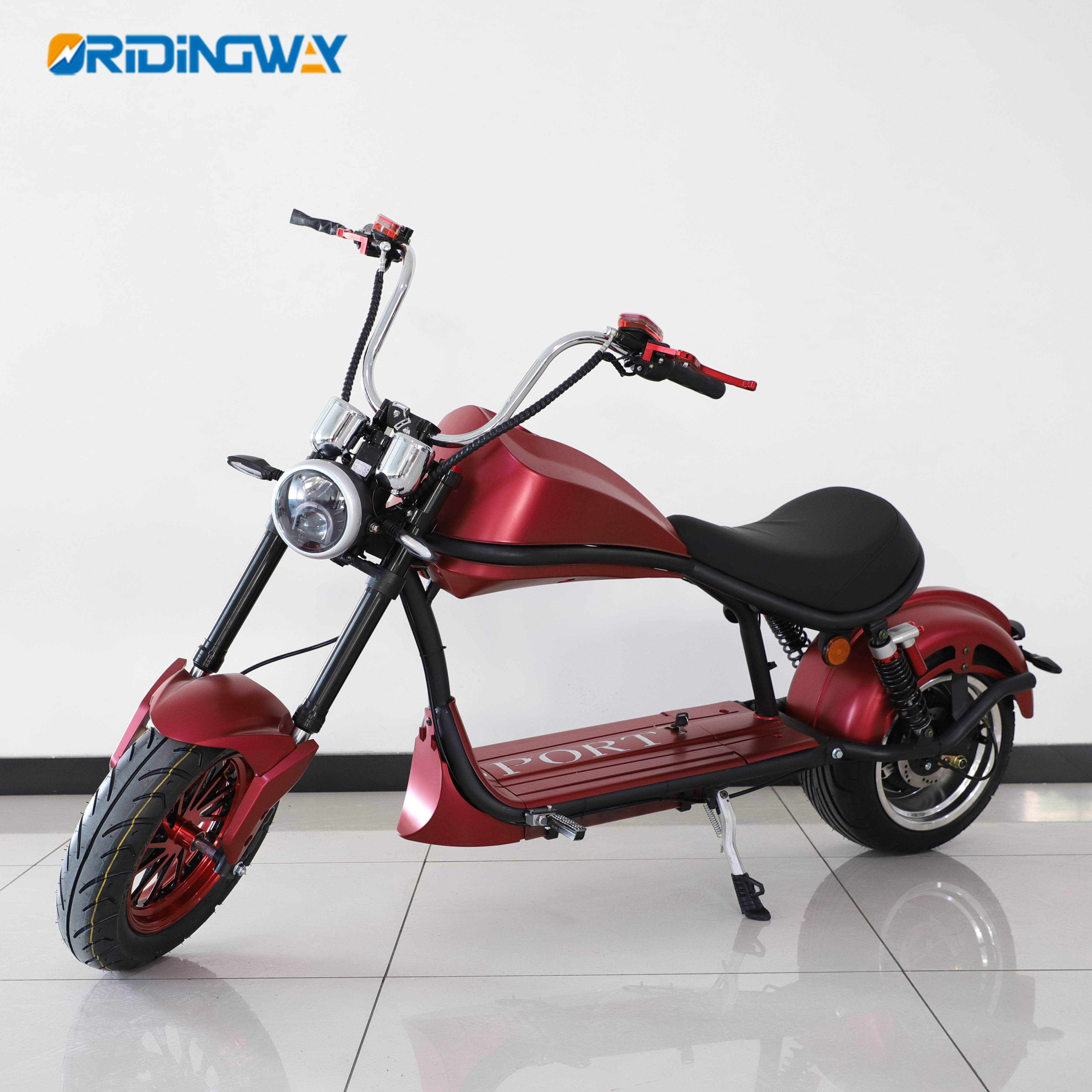 EEC approval big wheel citycoco harley super scooter 2000W Featured Image