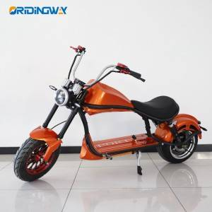 ORIDINGWAY chopoer Big wheel electric citycoco harley scooter 2000W motor