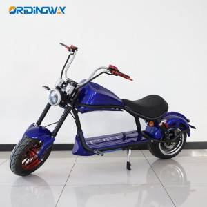 ORIDINGWAY Big wheel harley electric scooter