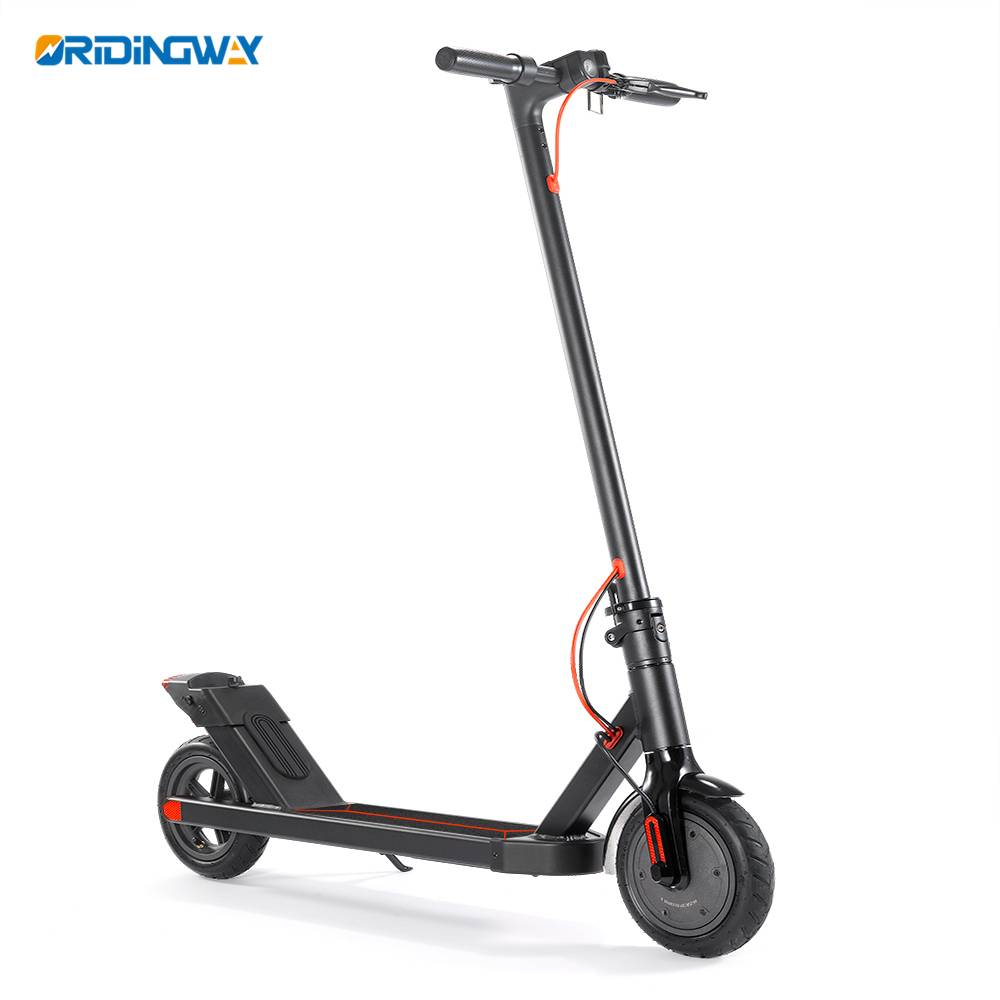 8 inch wheel folding electric scooter 350w motor Featured Image