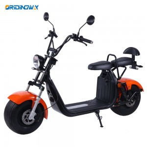 ORIDINGWAY super chopper EEC citycoco 1500w electric scooter