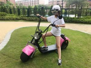EEC approval big wheel citycoco electric scooter ORIDINGWAY
