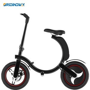 Motorized Electric foldable kick scooter bike with disc & electronic brake
