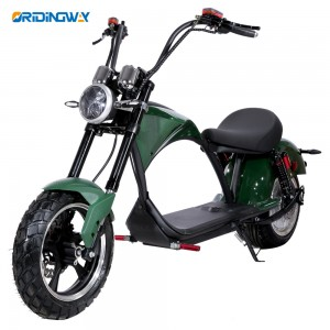 2000W harley citycoco electric mobility scooters with removable battery