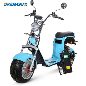 EEC citycoco electric harley scooter with removable battery long distant ORIDINGWAY