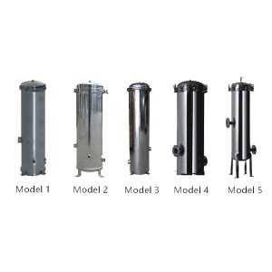 2019 Latest Design Stainless Steel Ss Filter Housing -