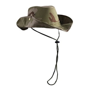 Camouflage Cotton Cowboy Hat