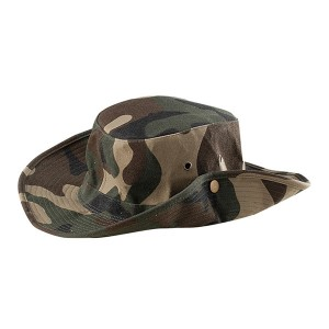 Colorful Camouflage Cowboy Ourdoor Hat