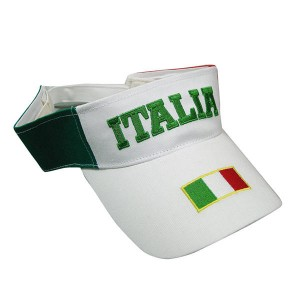 White Sun Visor Embroidery Logo Cap Sports Summer Cap