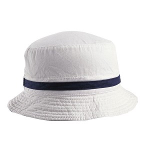 Wholesale Simple Cotton Plain Blank White Bucket Hats